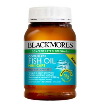 【澳洲CD药房】Blackmores 澳佳宝 无腥味深海鱼油迷你胶囊 400粒