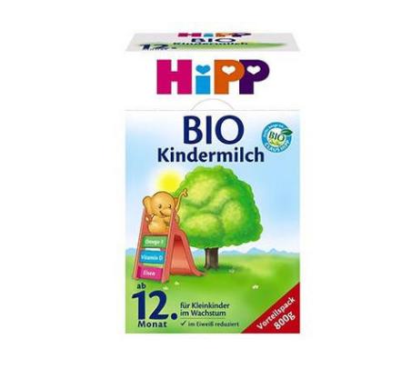 【德国BA】Hipp 喜宝 有机幼儿配方奶粉1+段(12个月以上) 800g