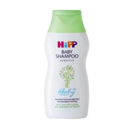 【德国BA】Hipp 喜宝柔润婴幼儿有机杏仁提取护发洗发露 200ml 5瓶