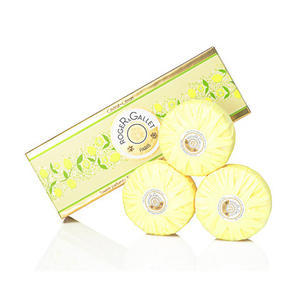 Roger & Gallet 香邂格蕾 柠檬枸橼圆形香皂礼盒(三枚装)