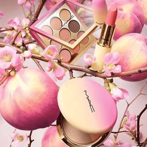 MAC2018春节蜜桃限量彩妆今日开卖 满$40再送4件小样