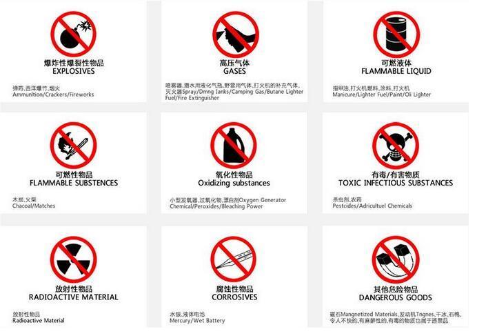 U2C海淘转运公司禁运禁止的产品有哪些? U2C转运公司禁运物品详情