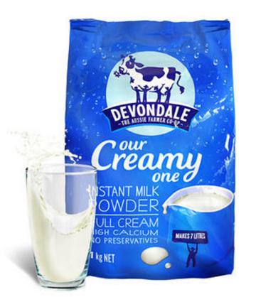 【澳洲PO药房】Devondale 德运 全脂高钙成人奶粉(老人/学生) 1kg