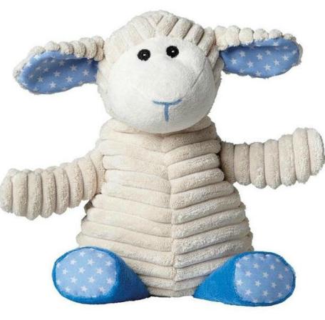 【荷兰DOD】Warmies薰衣草微波加热助眠毛绒玩具公仔羊暖宝宝【可拆洗】