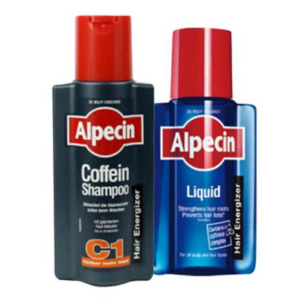 【荷兰DOD】Alpecin 阿佩辛 咖啡因C1防脱发洗发水+Alpecin 阿佩辛 咖啡因防脱增发营养液
