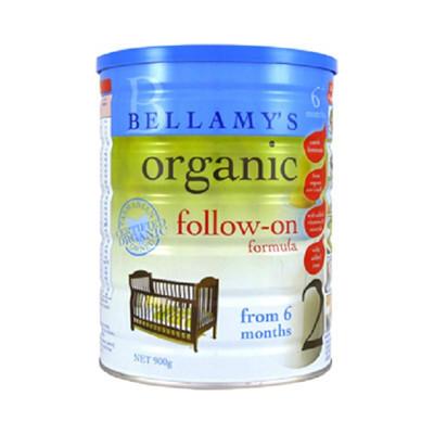 【澳洲RY药房】Bellamy&#039s 贝拉米 有机婴幼儿奶粉2段 900g