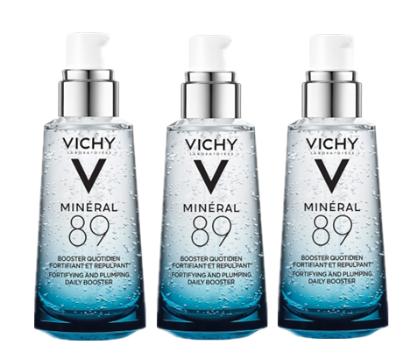【德国BA】Vichy 薇姿 活泉水玻尿酸89号精华露 3瓶装 3x50ml