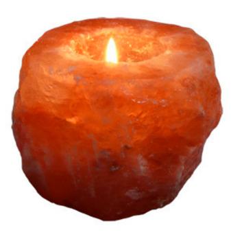 【荷兰DOD】Esspo 喜马拉雅天然水晶盐灯/烛台 (释放负离子/净化空气/舒缓情绪)800g