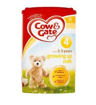 【满65镑立减3镑】Cow & Gate 牛栏 幼儿配方奶粉4段 (2-3岁幼儿)800g