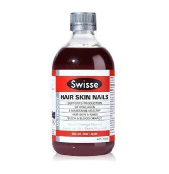 【满88纽免邮】Swisse 胶原蛋白口服液 500ml 血橙味 补水保湿