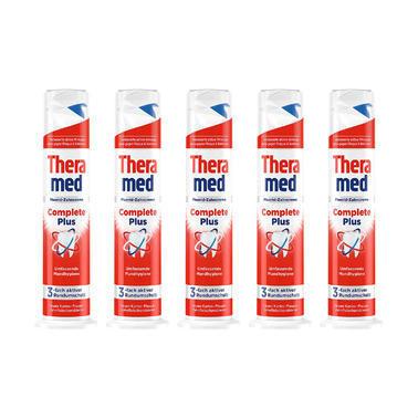 【德国DC药房】【5个特惠装】Theramed 泰瑞美 立式牙膏红色超感亮白 100毫升/支5个