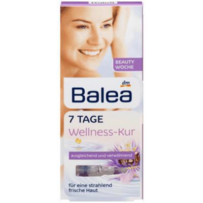 【德国DC药房】Balea 芭乐雅 紫盒涂抹式玻尿酸原液安瓶 7支1ml