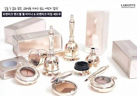 韩国美妆品牌LABIOTTE兰欧媞新推出MOMENTIQUE彩妆系列