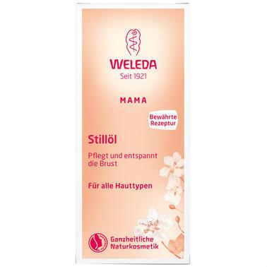 【德国DC药房】Weleda 维蕾德 哺乳期专用乳房催乳按摩油 50ml