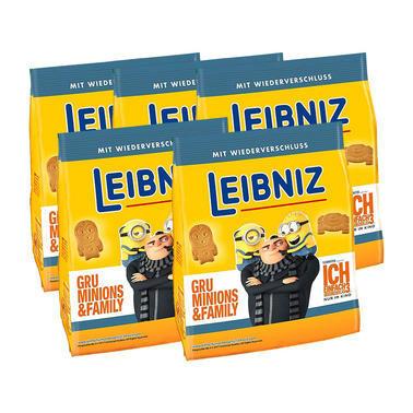 【5盒特惠装】Leibniz 莱布尼兹 小黄人限定黄油饼干 5X125g
