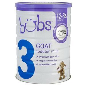 【澳洲P4L药房】【限时特价】Bubs 贝儿 婴幼儿羊奶粉3段 800g