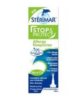 【凑单品】Sterimar 施地瑞玛 小海豚鼻腔喷雾 Stop & Protect系列 对抗过敏性鼻炎 20ml