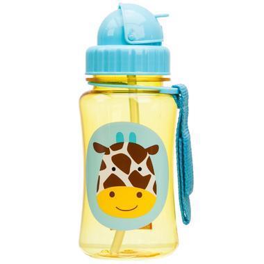 【美国Babyhaven】Skip Hop Zoo系列吸管杯 长颈鹿图案 12盎司