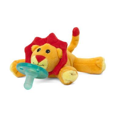 【美国Babyhaven】Wubbanub 婴儿布偶安抚奶嘴 小狮子