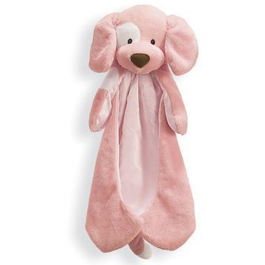 【美国Babyhaven】Gund 可爱小狗抱抱毯 安抚毯毛绒毯 粉色