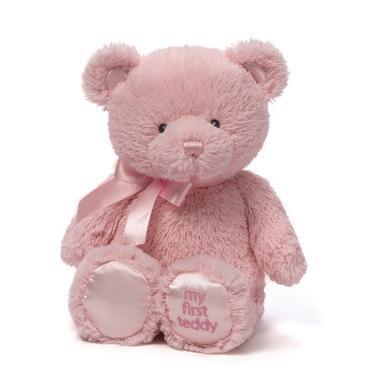 【美国Babyhaven】Gund 我的第一次系列 泰迪熊公仔毛绒玩具 粉色 15英寸