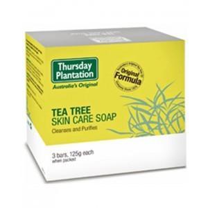 【澳洲RY药房】Thursday Plantation 星期四农庄 茶树护肤香皂125g 3块