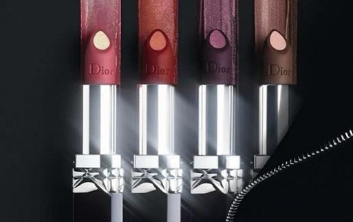 迪奥Dior推出首款双色双效哑光金属感唇膏