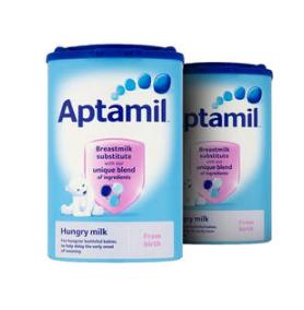 【2.20 周二爆料】【2罐包邮装】Aptamil 爱他美 抗饿配方奶粉(0-12m 大食量婴儿) 900g2罐