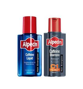 Alpecin 阿佩辛 防脱生发洗护套装 免洗营养液200ml+洗发水250ml