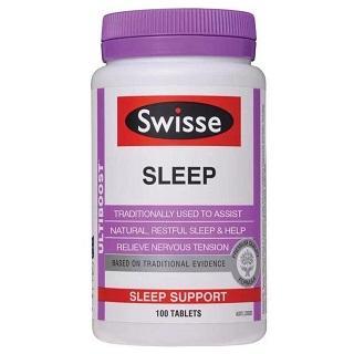 Swisse 纯植物精华睡眠片 100粒(提升睡眠质量/改善睡眠)