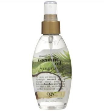 【2.14】【荷兰DOD】Organix OGX欧姬丝 水合物椰子油保湿护发精油 118ml