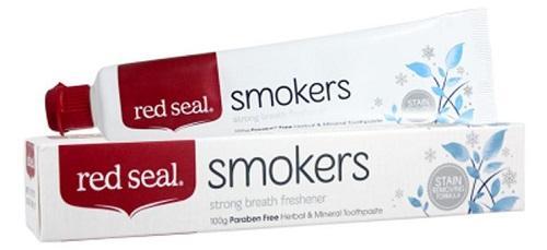 【2.10】【澳洲RY云顶集团药房】Red seal红印 天然吸烟者牙膏 100g