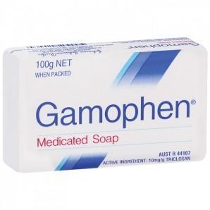 【2.13】【澳洲RY药房】Gamophen 药皂抗菌皂(后背祛痘/止痒/清洁/神奇香皂)100g