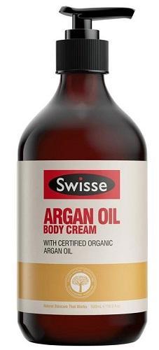 【2.16】【澳洲RY云顶集团药房】Swisse 摩洛哥坚果油身体霜 500mL