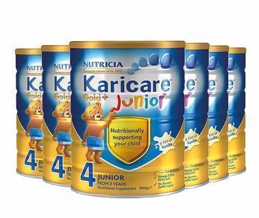 【包邮包税】Karicare 可瑞康金装婴儿奶粉 4段900g6罐