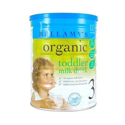 【千万妈妈信赖】Bellamys 贝拉米 有机婴幼儿奶粉3段 900g,AU$36.99(约¥189)
