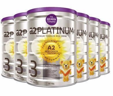 【包邮包税 限量】A2 Platinum白金系列婴幼儿奶粉三段 900g6罐