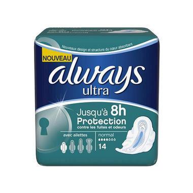 Always 超强吸附护翼卫生巾 14片,现价:€2.99(约¥23.15)