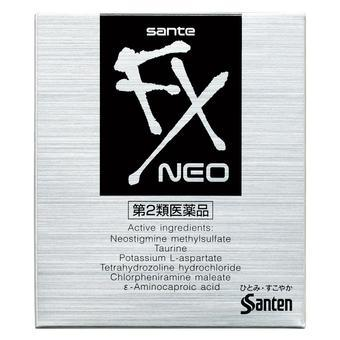 【多庆屋】参天制药santen Fxneo 清凉舒缓滴眼液 12ml 570日元(约¥34)