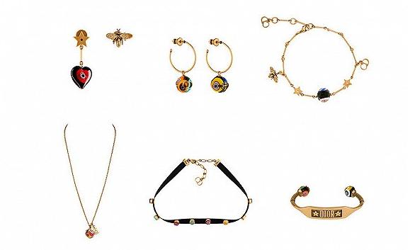 Dior迪奥推出D-MURRINE珠宝系列