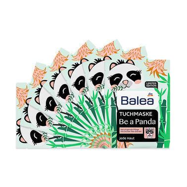 【德国DC药房】【7片特惠装】芭乐雅 绿茶精华镇定舒缓保湿面膜 限量版可爱熊猫图案 7片
