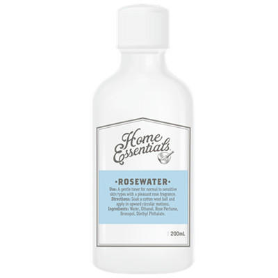 【新西兰PD】【凑单】Home Essentials 玫瑰花水爽肤水 200ml 仅需NZ$5.9/约¥27