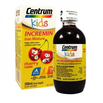 【新西兰PD】【凑单】Centrum 善存 儿童补铁口服液 200ML 樱桃味