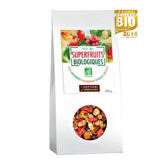 【法国BM】Comptoirs et Compagnies 有机混合水果干 排毒补充维生素 400g