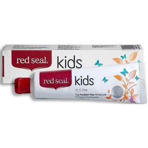 【澳洲P4L药房】Red Seal红印 儿童天然无氟牙膏 75g(安全可吞食)