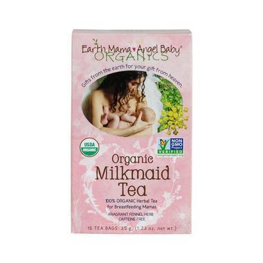 【美国Babyhaven】earth mama angel baby 地球妈妈天使宝贝 有机下奶茶 16包/盒