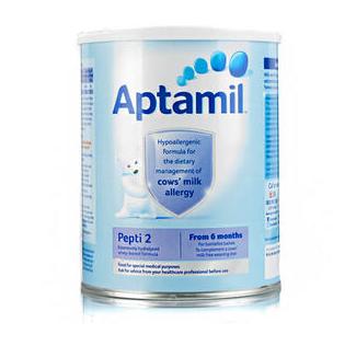 Aptamil 爱他美 深度水解抗牛奶蛋白过敏配方奶粉2段(6-12m) 800gx4