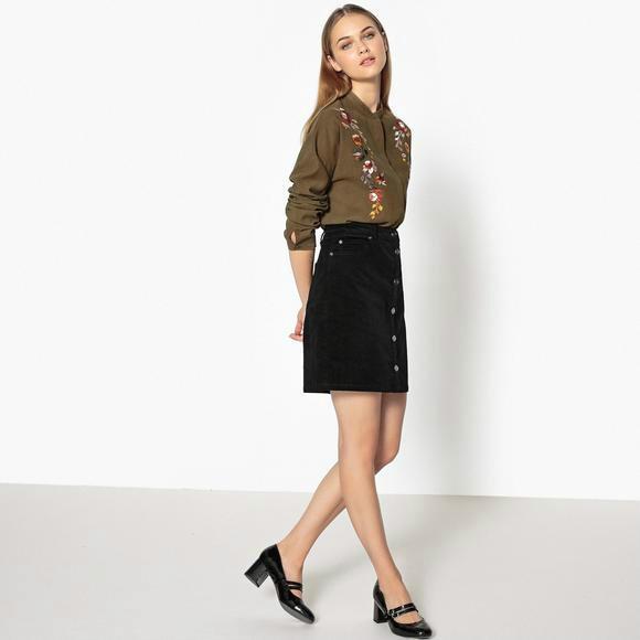 【法国LR】La Redoute Collections 女士刺绣衬衫