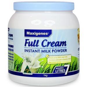【澳洲p4l药房】【断货王】Maxigenes 美可卓 澳洲蓝胖子奶粉 高钙 成人全脂奶粉1kg