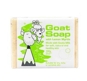 【满88纽免邮】Goat soap 天然手工羊奶皂 柠檬味 100g